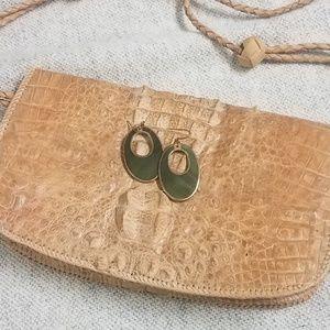 ♣️ Green Oval Earrings ♣️